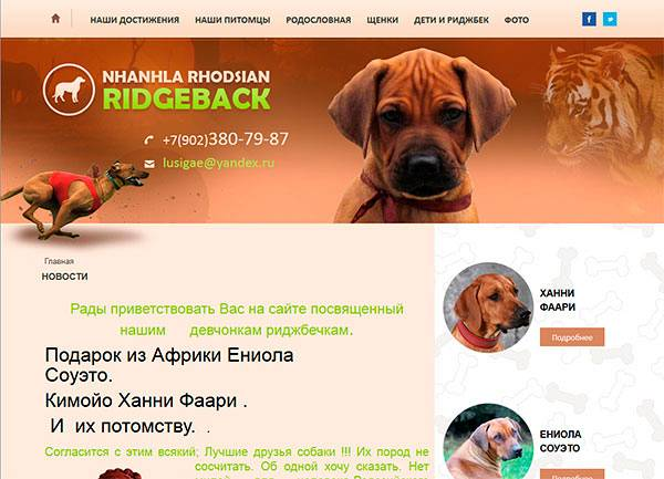 loveridgeback.ru